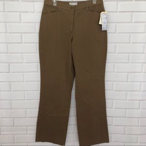 COLDWATER CREEK Brown Aspenwood khaki pants